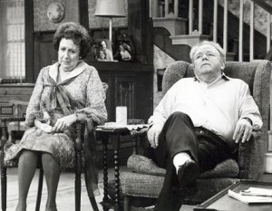 Edith and Archie Bunker