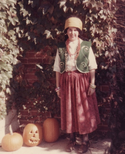 Me as a gypsy in the 4th grade
